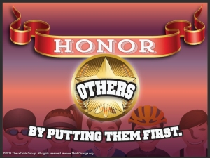 Honor Others By Putting Them First